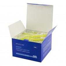 Набор зубных щеток Revyline с нанесенной зубной пастой (100 шт)